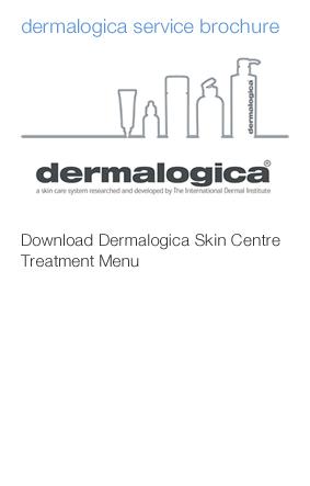 dermalogica service brochure
