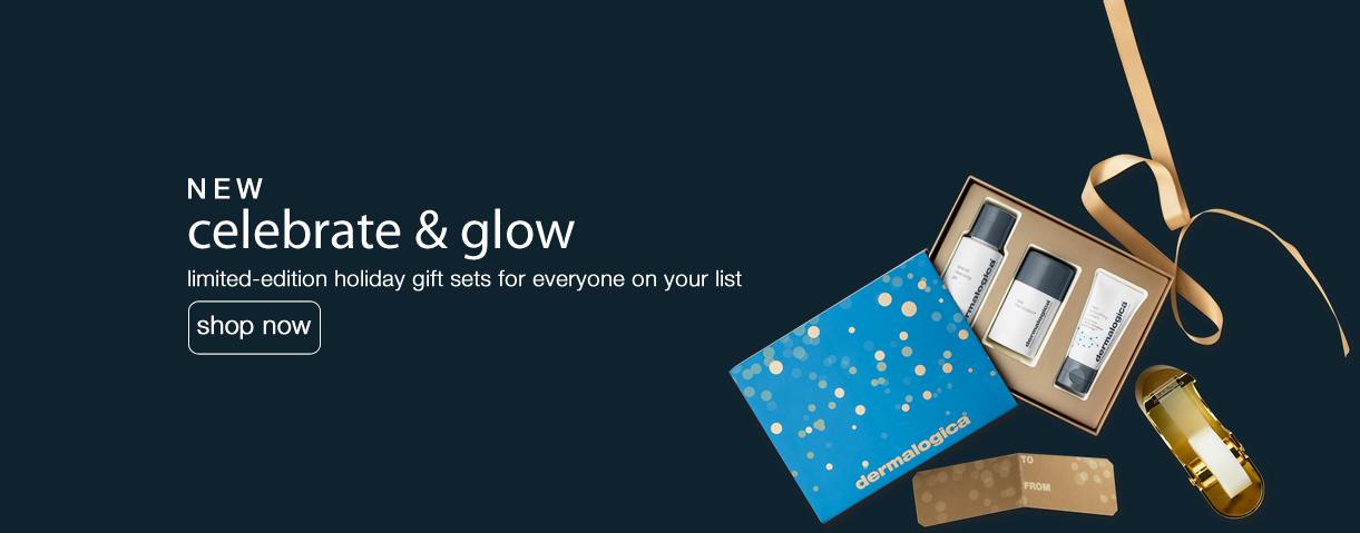 Gift Sets Holidays - celebrate & glow